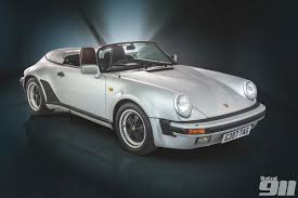 porsche classic speedster porsche 911 3 2 carrera speedster the finest open top 911