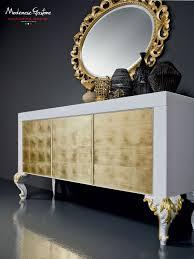 aparador con patas altas de diseño nuevo barroco de madera