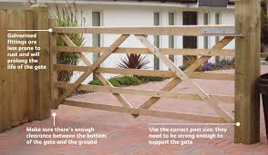 how to hang a 5 bar gate somerlap forest products