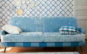 designers guild sofa traditional sofa fabric 2 seater blue elipse designers guild
