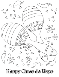 cinco mayo coloring pages