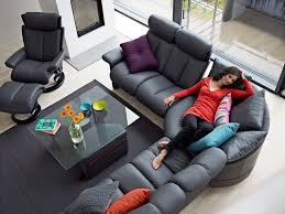 ekornes sectional sofa stressless legend sofa and magic recliner this configuration is