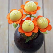 flower cake flower cake pops
