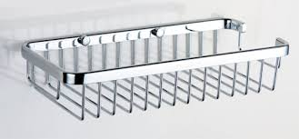 Bathroom Chrome Shelves New Wire Shower Shelf Caddy By Bathroom Accessories Manufacturer