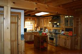 Selecting Kitchen Cabinets How To Choose Kitchen Cabinets For Your Log Home The Log Home Guide