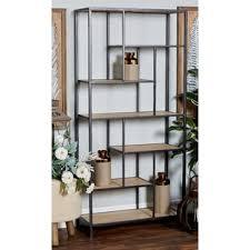 tiered tower bookcase wayfair