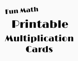 Multiplication Tables Pdf by Multiplication Table Etsy
