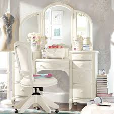 try white vanity set also white vanity chair with rolling vanity