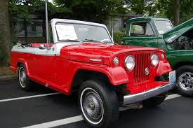 white convertible jeep willys overland jeepster photos and specs from madchrome com