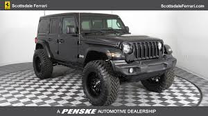 jeep wrangler pre owned 2018 jeep wrangler unlimited sport s 4x4 suv in phoenix