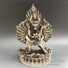 aliexpress buy handmade copper nickel alloy yamantaka buddha