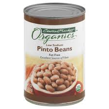 central market organics low sodium pinto beans shop canned beans