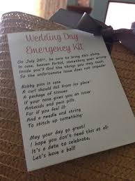 wedding gift kits awesome wedding survival kit gift photos styles ideas 2018