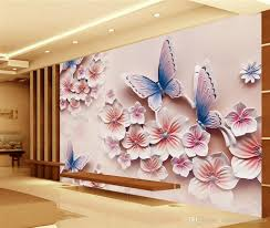 luxury european modern embossed stereo romantic butterfly orchid see larger image