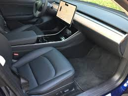 tesla model 3 interior seating exclusive insideevs tesla model 3 test drive review