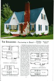 honor bilt homes by sears 1928 english bungalow colonial plans