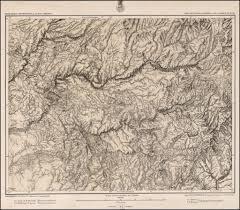 Yosemite Valley Map Parts Of Central California Atlas Sheet No 56 Yosemite Valley