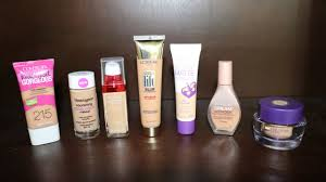 light coverage foundation drugstore best and worst drugstore foundations 2014 youtube