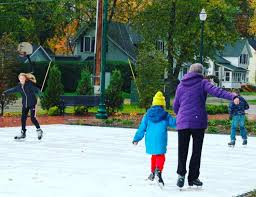iceless skating rink a hit in zeeland news 1450 99 7 whtc