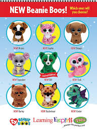 beanie boos august 2015 u2013 learning express u2013 brands included