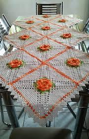 Crochet Table Cloth Enhance The Beauty Of Tables With Crochet Table Runners 1001 Crochet