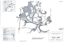 Washington State Printable Map by Veto Lake Fishing Map Southeast Ohio Go Fish Ohio