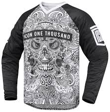 jersey motocross icon 1000 lace face jersey revzilla