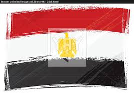 Eygpt Flag Grunge Egypt Flag Vector Yayimages Com