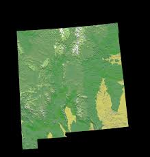 New Mexico Maps File Digital Elevation Map New Mexico Gif Wikipedia