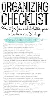 best images about organization ideas pinterest storage organizing checklist declutter your home days