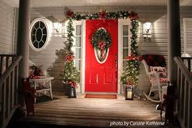 Christmas Decorations For Front Door Porch by Hang Outdoor Christmas Wreaths To Charm Your Home