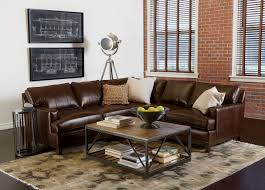 Pottery Barn Leather Couches Living Room Ethan Allen Bennett Sofa Plus Pottery Barn Leather