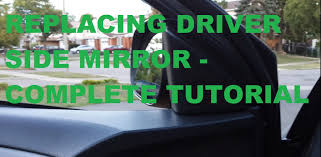 toyota side mirror replacement how to replace driver side mirror on corolla