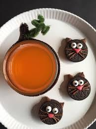 halloween spookysnacks u2013 oreo black cats and a fanta orange