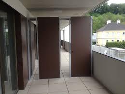 balkon trennwand home beftec dichtes befestigungssystem für geländer ganzglas