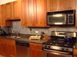pictures of backsplashes in kitchen an easy backsplash made with vinyl tile hgtv