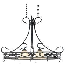 lighted hanging pot racks kitchen articles with wrought iron flower pot stands tag wrought iron pot