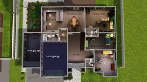 Suburban House Floor Plan by Mod The Sims Contemporary Suburban