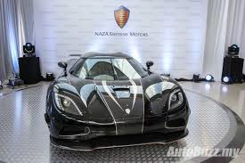 koenigsegg sweden naza swedish unveiled the 400km h koenigsegg agera s in malaysia