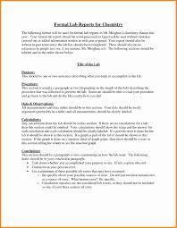 soil report sample 10 chemistry lab report example model resumed chemistry lab report example formal lab reports for chemistry jpg