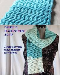 crochet is the way faerie u0027s enchantment scarf