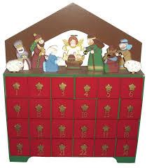 nativity advent calendar the aisle nativity advent calendar reviews wayfair