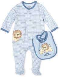 1950s Clothes For Kids Amazon Com Little Me Baby Boys Newborn Lovable Lion Footie And