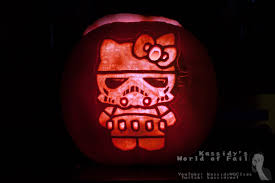 pumpkins 2015 hello kitty storm trooper youtube