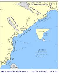 Calcutta India Map by Mahanadi Nec Ndr National Data Repository India