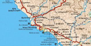 zihuatanejo map mexico index to cities and of mexico s mexico page