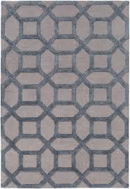 Modern Gray Rugs Modern Rug Arise Awrs 2128 Light Gray Blue Geometric Rug