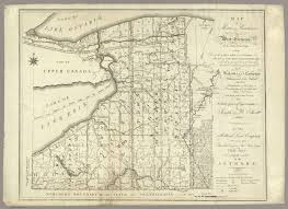 State Of Ny Map by Of Morris U0027s Purchase Or West Geneseo In The State Of New York