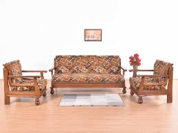 Sell Old Furniture Online Bangalore Minos Teak 5 Seater Sofa Set Buy And Sell Used Furniture And