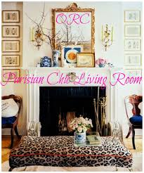 One Room Challenge Rosa Beltran Design One Room Challenge Parisian Chic Living Room